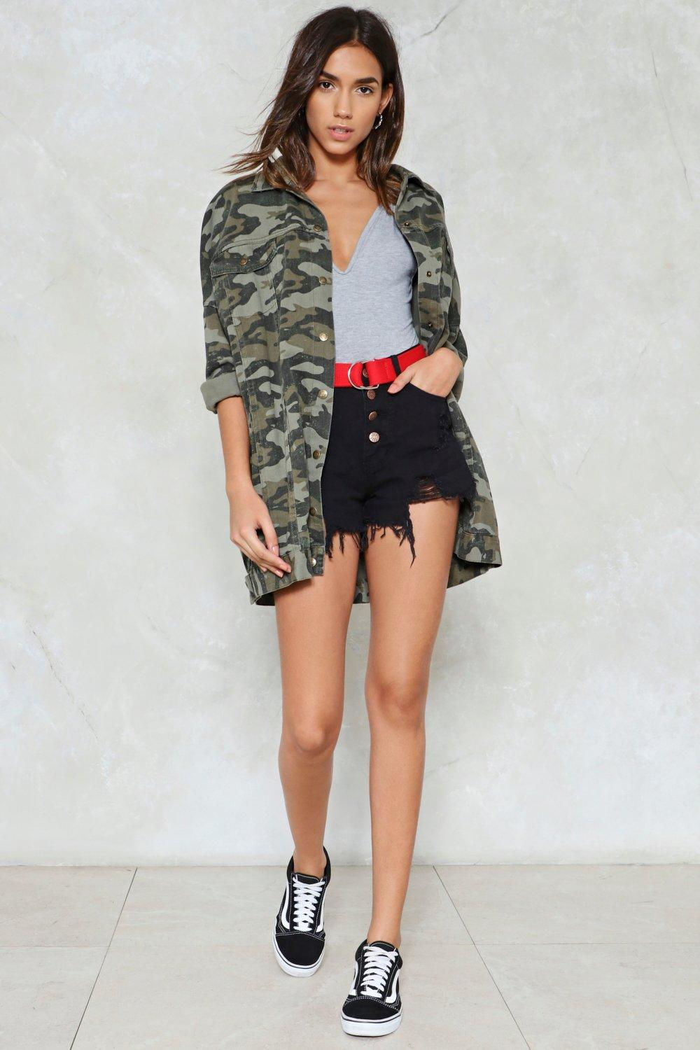 0267489a23 Rip It Up High-Waisted Denim Shorts | Shop Clothes at Nasty Gal!