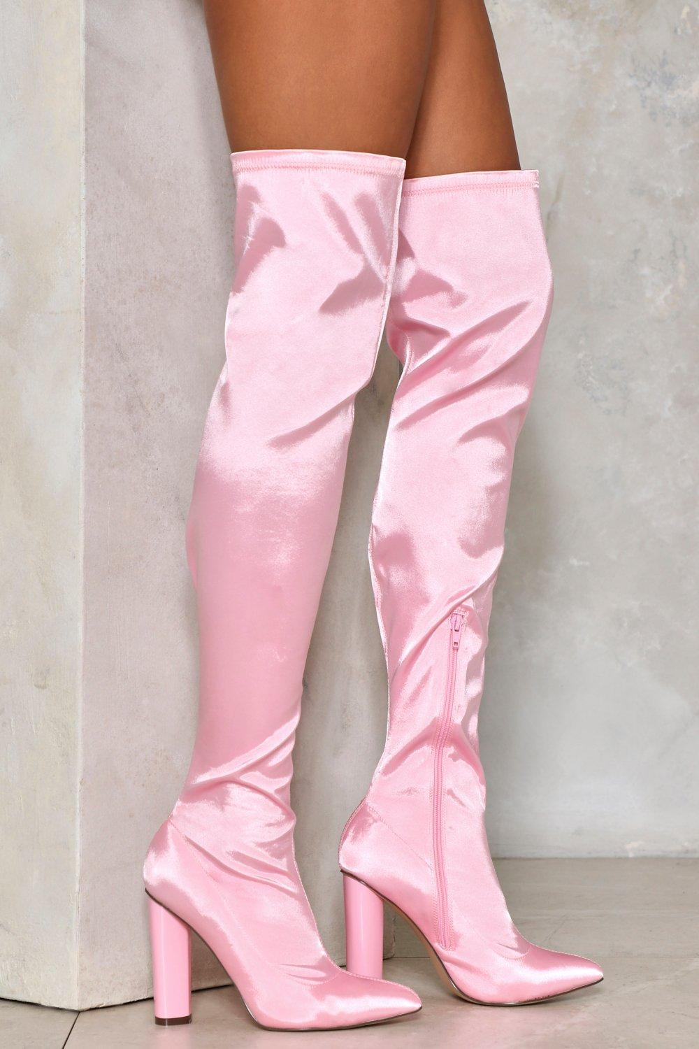 Zero Tolerance Over-the-Knee Boot   Shop Clothes at Nasty Gal!