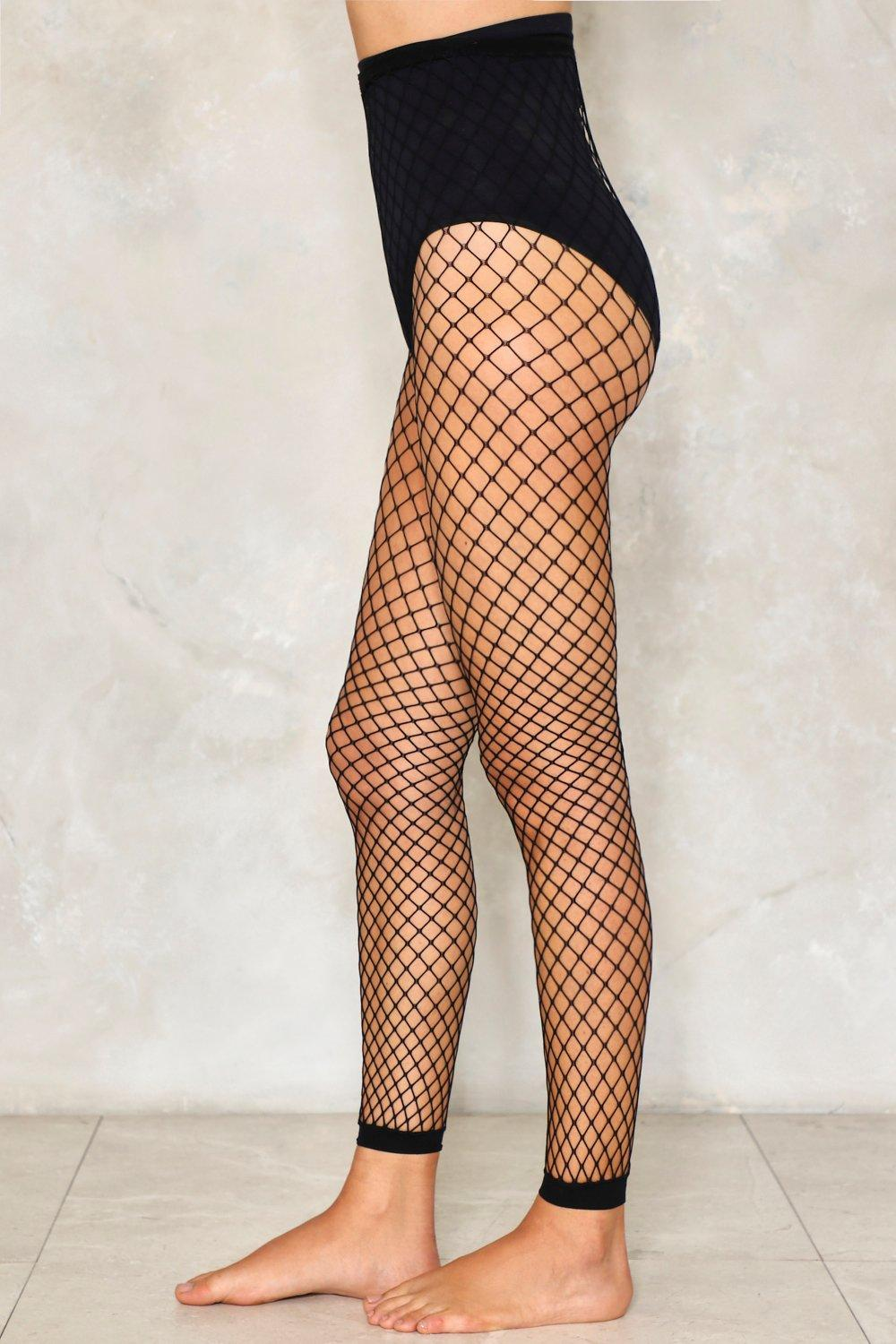 d63e64cb1727fa Like a Prayer Cropped Fishnet Tights | Shop Clothes at Nasty Gal!