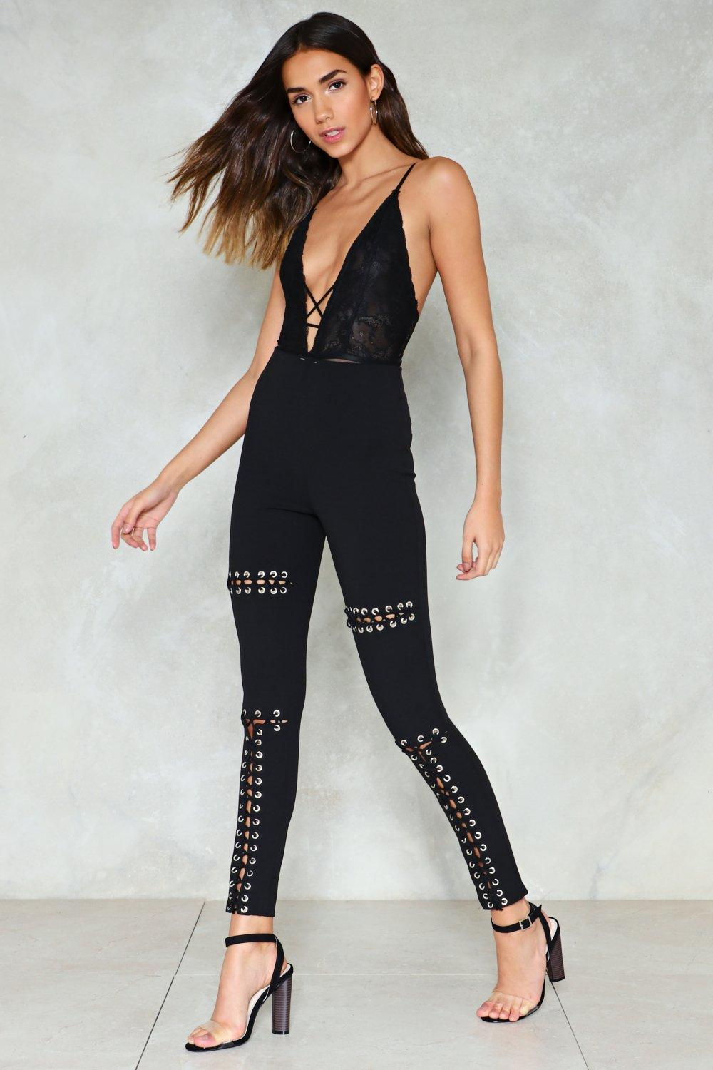422696390c1c9e Tongue-Tied Lace-Up Pants | Shop Clothes at Nasty Gal!