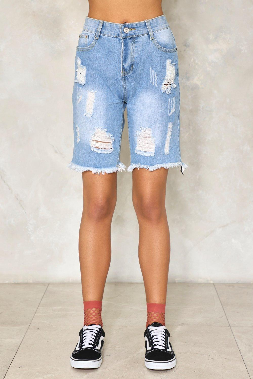 distressed denim shorts - Blue Closed 2fSciDT
