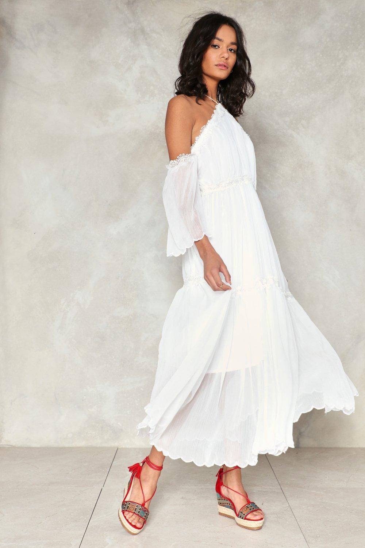 93ce272900 Bold Shoulder Maxi Dress | Shop Clothes at Nasty Gal!