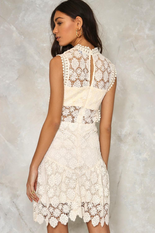 db0db964bc69 Laguna Crochet Lace Dress   Shop Clothes at Nasty Gal!