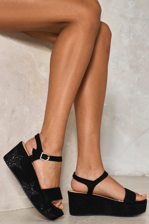 81d1da7a Starry Eyed Platform Sandal | Shop Clothes at Nasty Gal!