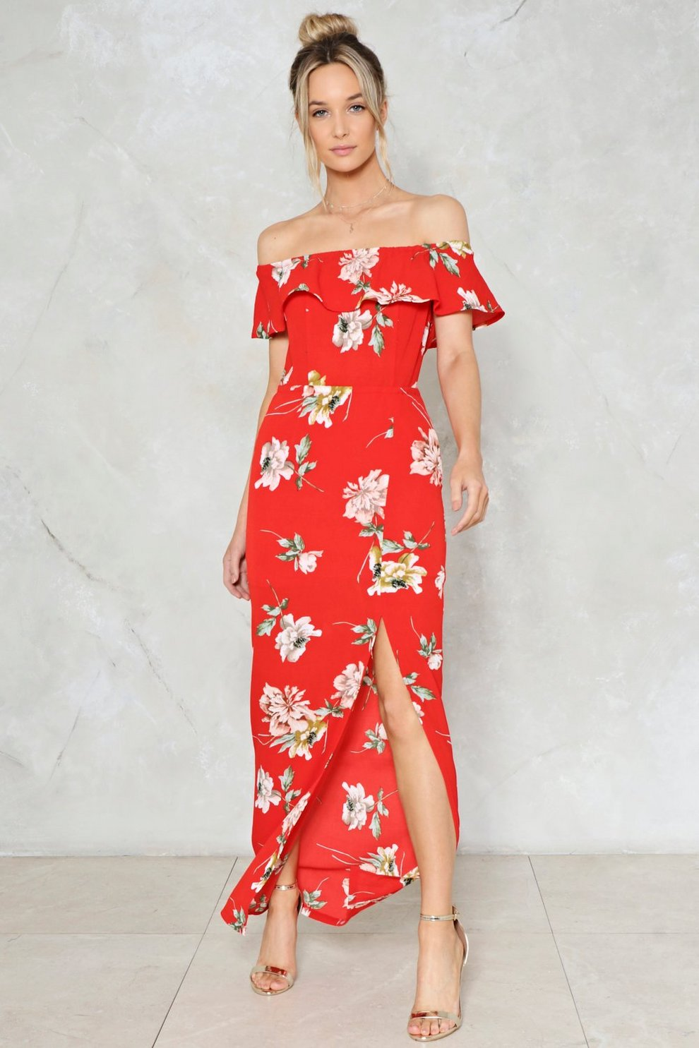 a78b949330f33 Like a Flower Floral Dress   Shop Clothes at Nasty Gal!