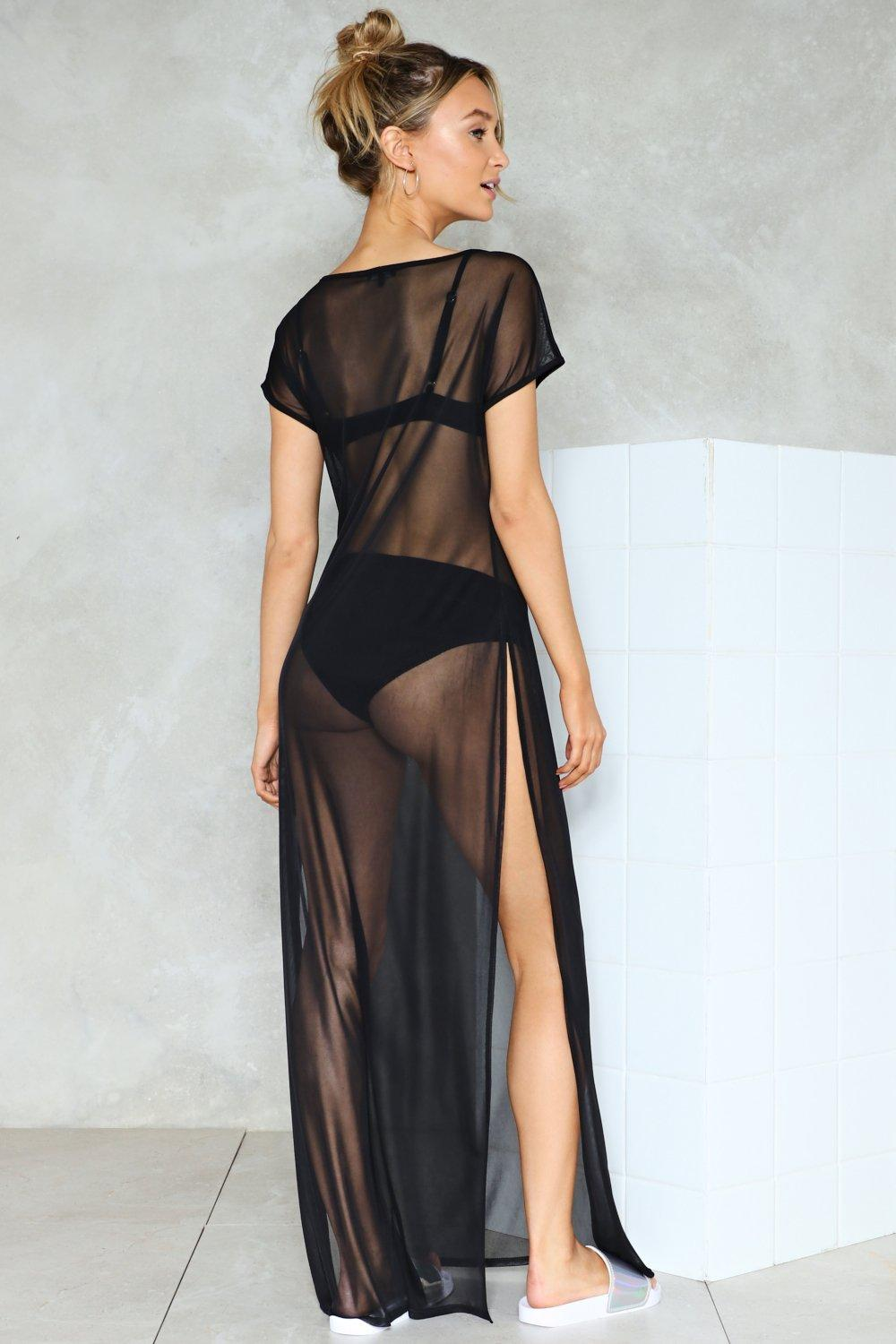 b66cdad688 Dark Hour Mesh Cover-Up | Shop Clothes at Nasty Gal!