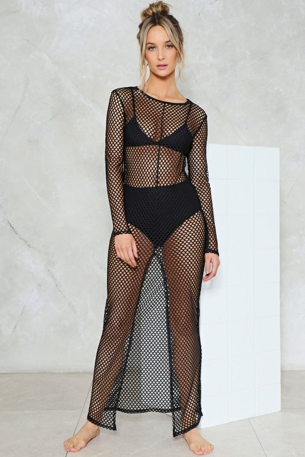 51751c1fa14c8 Net Ahead Fishnet Cover-Up | Shop Clothes at Nasty Gal!