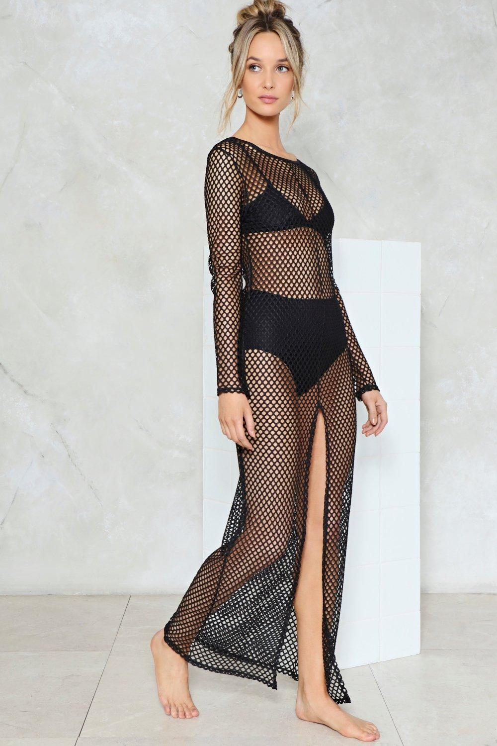 c0be49f0fa640 Net Ahead Fishnet Cover-Up | Shop Clothes at Nasty Gal!