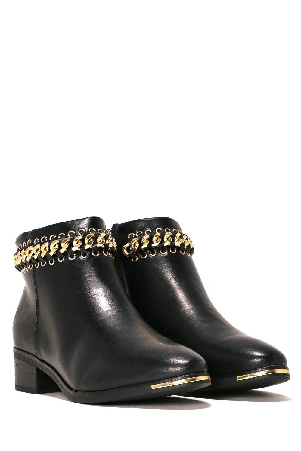 e96e36b071d Yank My Chain Ankle Boot | Shop Clothes at Nasty Gal!