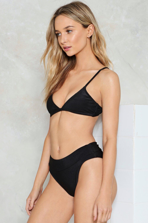 9f985f97b6359 Womens Black Nasty Gal Alina Mix & Match High-Waisted Bikini Bottom