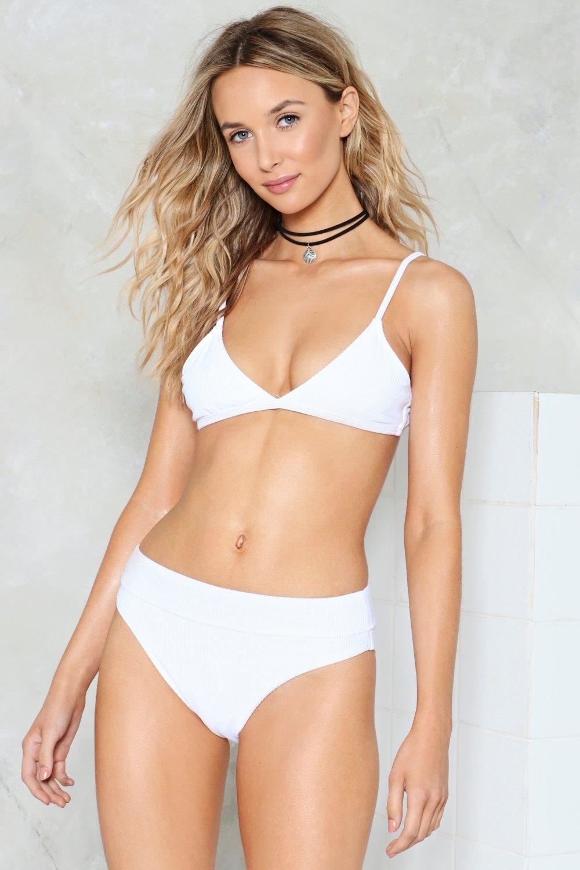 7168e23d4f47b Nasty Gal Alina Mix   Match High-Waisted Bikini Bottom