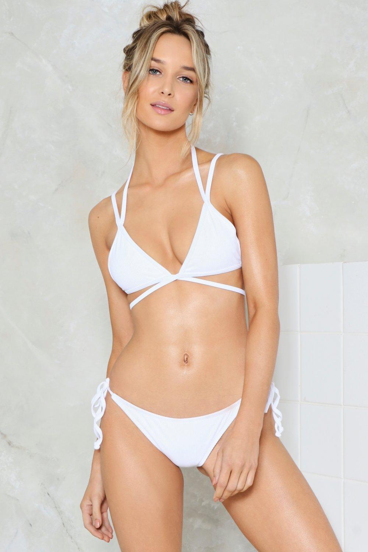 5b7e1b7d63 Nasty Gal Mix   Match Strappy Bikini Top