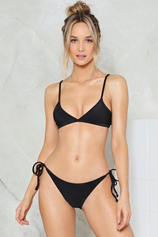 eac2a78f1994 Nasty Gal Alina Mix & Match Triangle Bikini Top   Shop Clothes at ...
