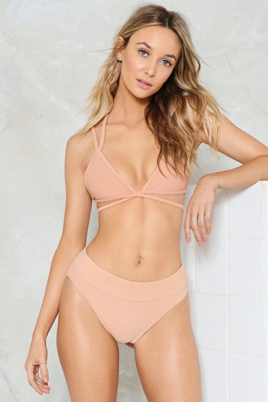 6bc0b03fa2 Nasty Gal Alina Mix   Match Strappy Bikini Top