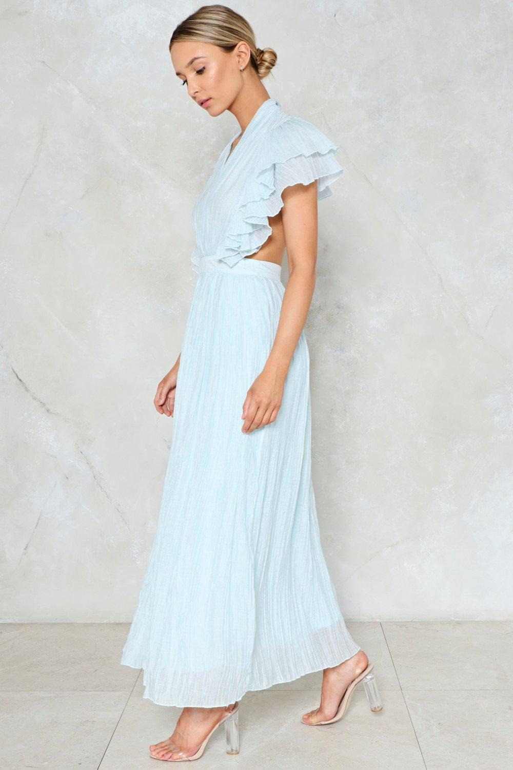d202587edb897 The Pleat is On Maxi Dress | Shop Clothes at Nasty Gal!