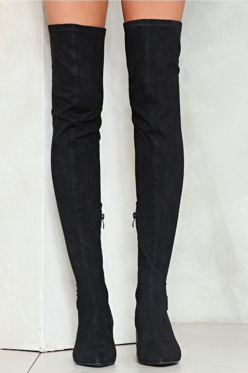 594b77b629 The Edge of Glory Thigh-High Boot | Shop Clothes at Nasty Gal!