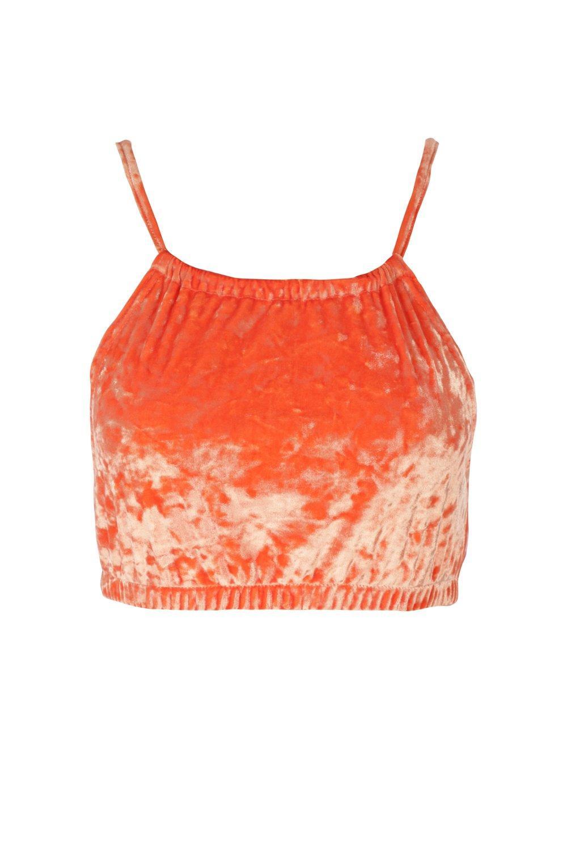 22fa6daa3da Crush Hour Velvet Crop Top | Shop Clothes at Nasty Gal!