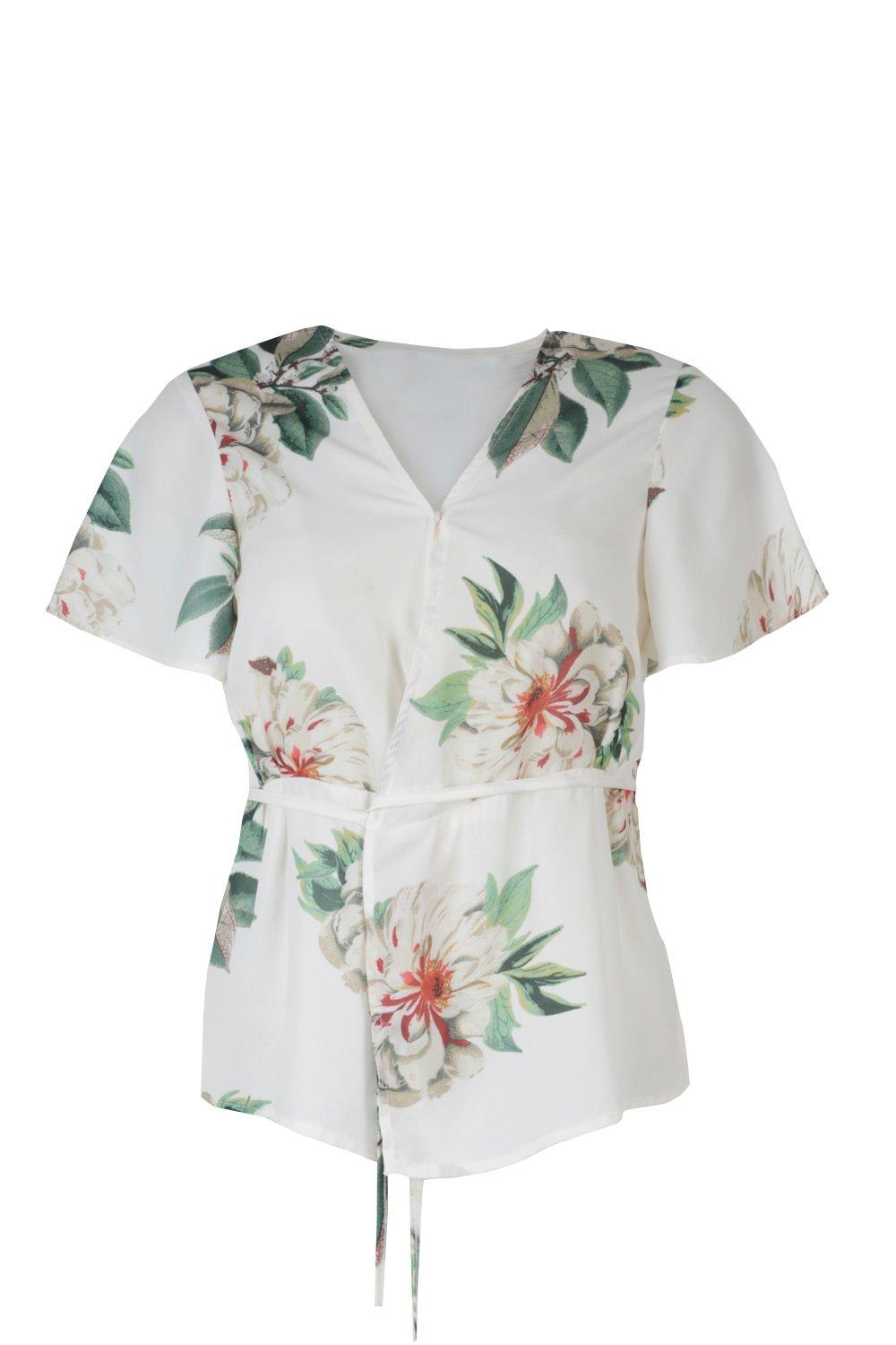 All Together Now Floral Blouse Shop Clothes At Nasty Gal