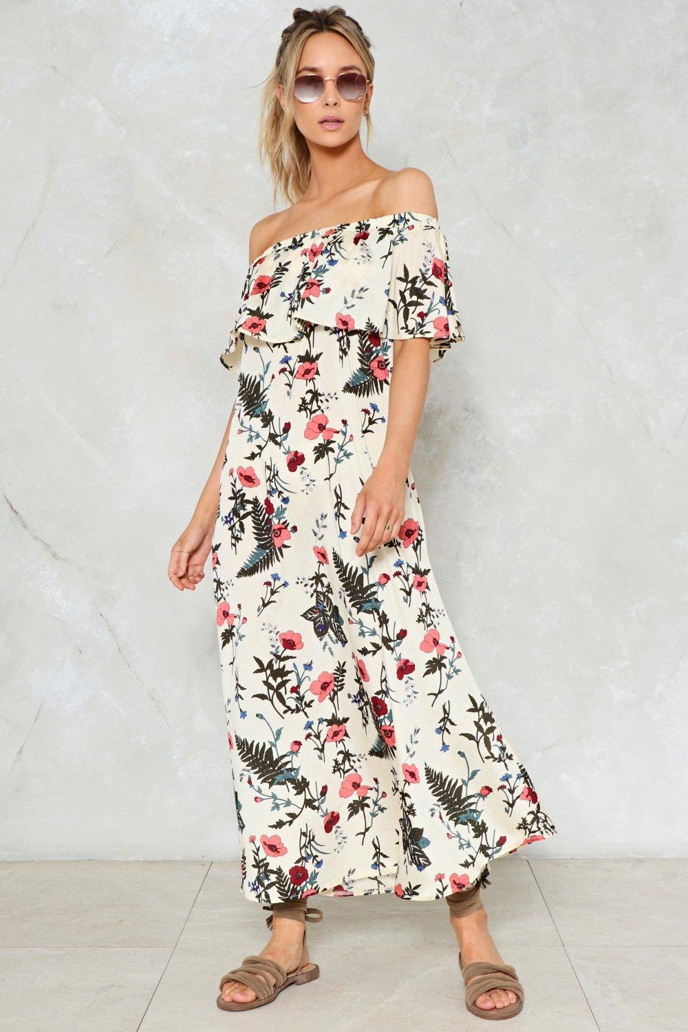 02f3cc49c67a3 Growing Pains Floral Maxi Dress | Shop Clothes at Nasty Gal!