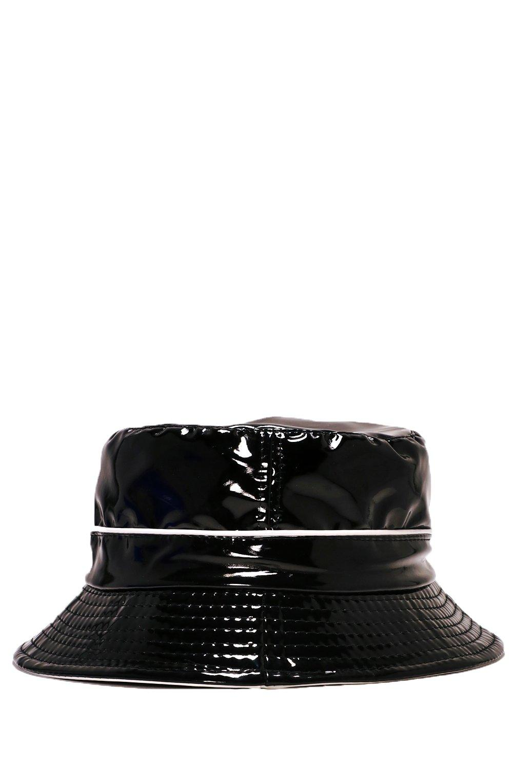 447353be You Make Me Slick Patent Bucket Hat | Shop Clothes at Nasty Gal!