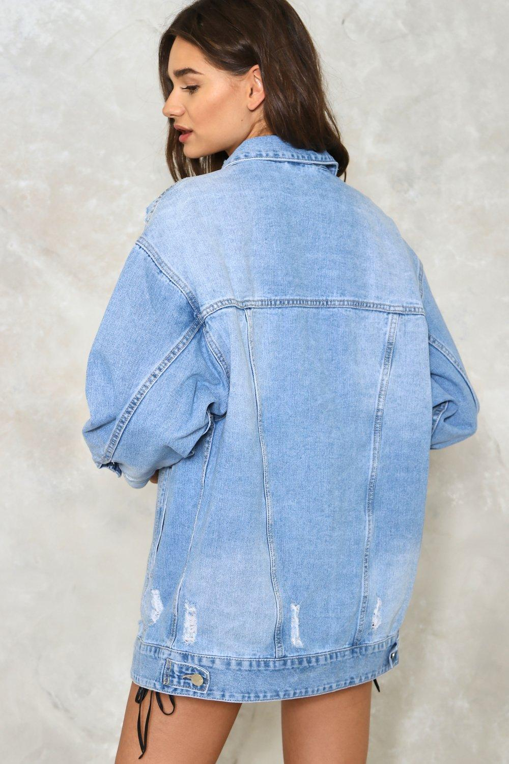 26252d6cd33f0 Day Tripper Oversized Denim Jacket | Shop Clothes at Nasty Gal!