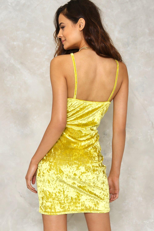 dca594db23 Just a Little Crush Velvet Dress