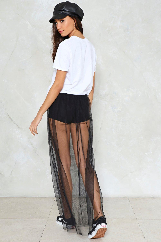 See No Evil Mesh Skirt  4392dc556da3