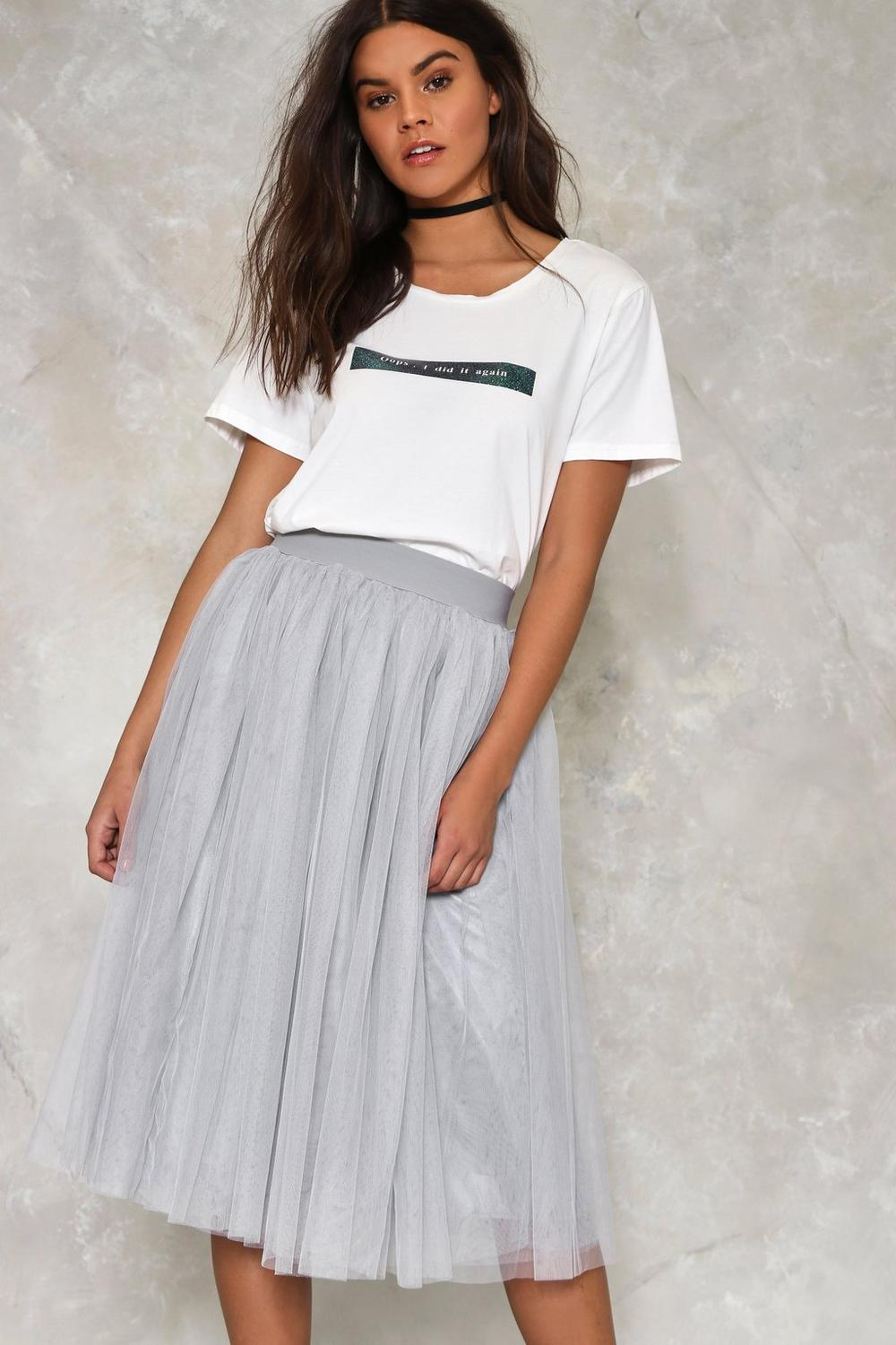 91dbb3dd1 Tulle Cool for Rules Midi Skirt | Shop Clothes at Nasty Gal!