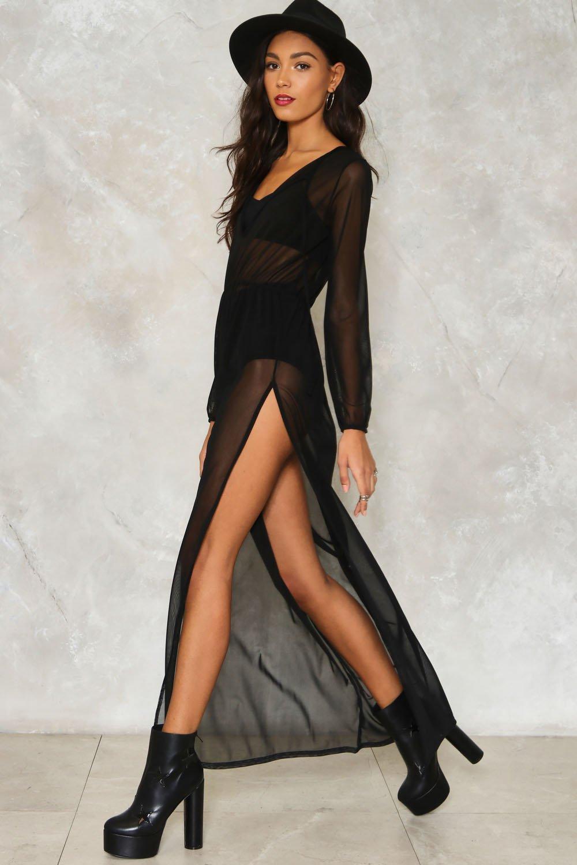a84df0f016bb2 Travel Lightly Mesh Dress | Shop Clothes at Nasty Gal!