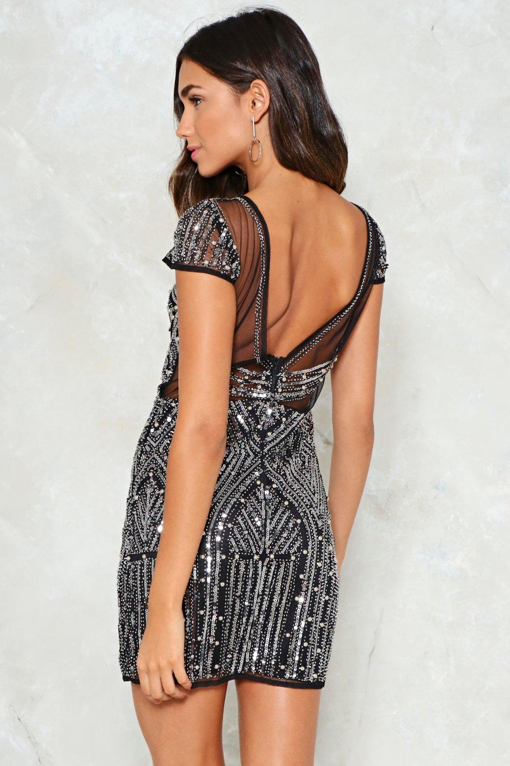 711d6f79bc3593 Workin My Way Back To You Sequin Dress Clothes At Nasty Gal. Womens Black  ...