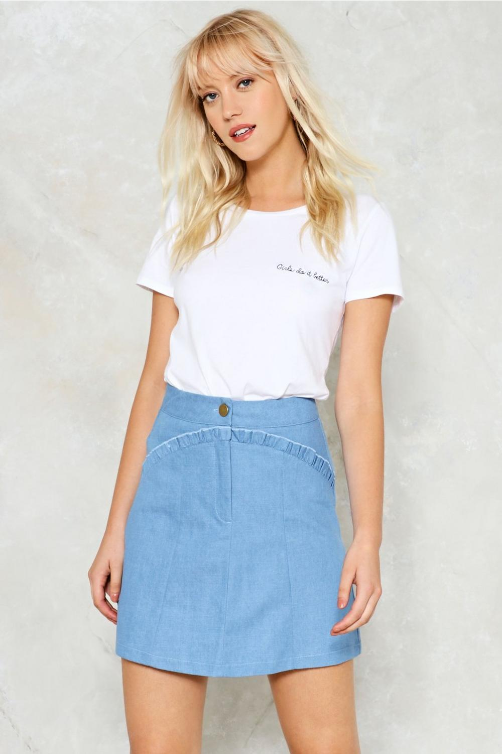 8f5c351a2ad284 Form A-Line Skirt | Shop Clothes at Nasty Gal!