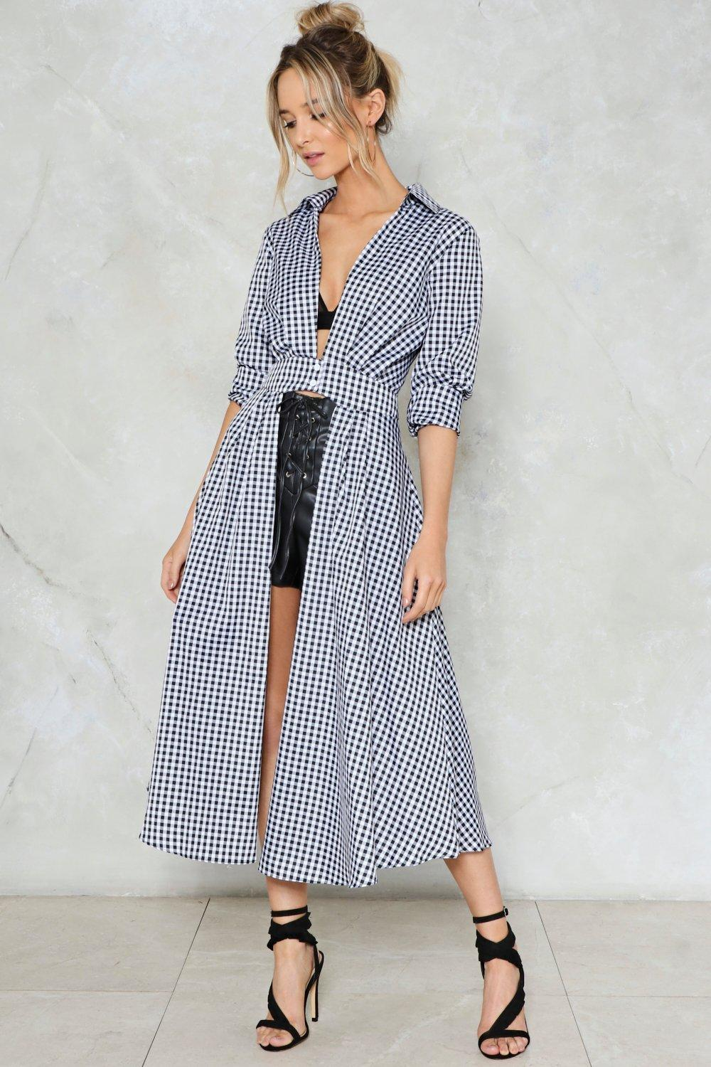 f4ec549882 Check Yourself Gingham Shirt | Shop Clothes at Nasty Gal!