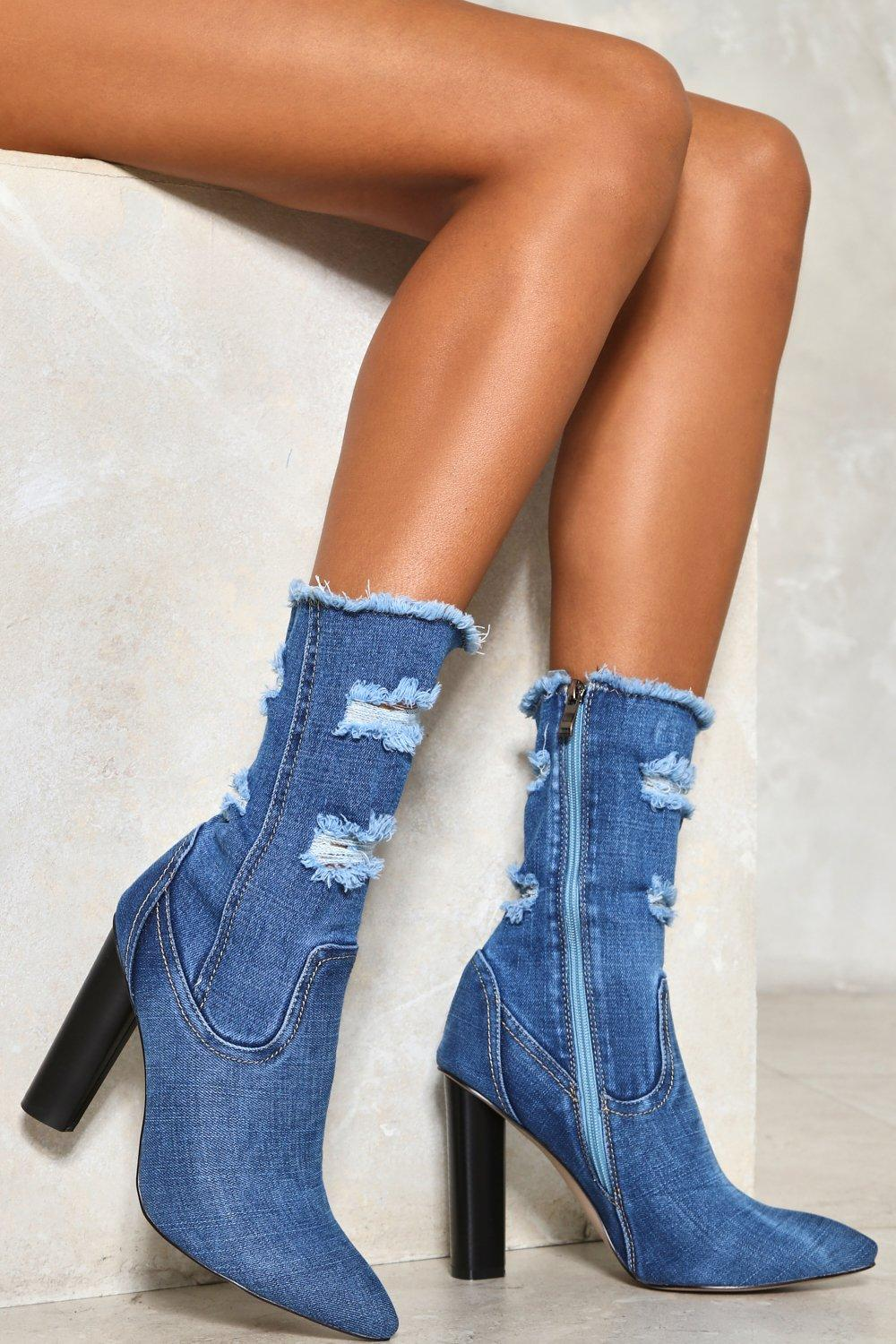 1f4801a312 Perfect Fray Denim Boot | Shop Clothes at Nasty Gal!