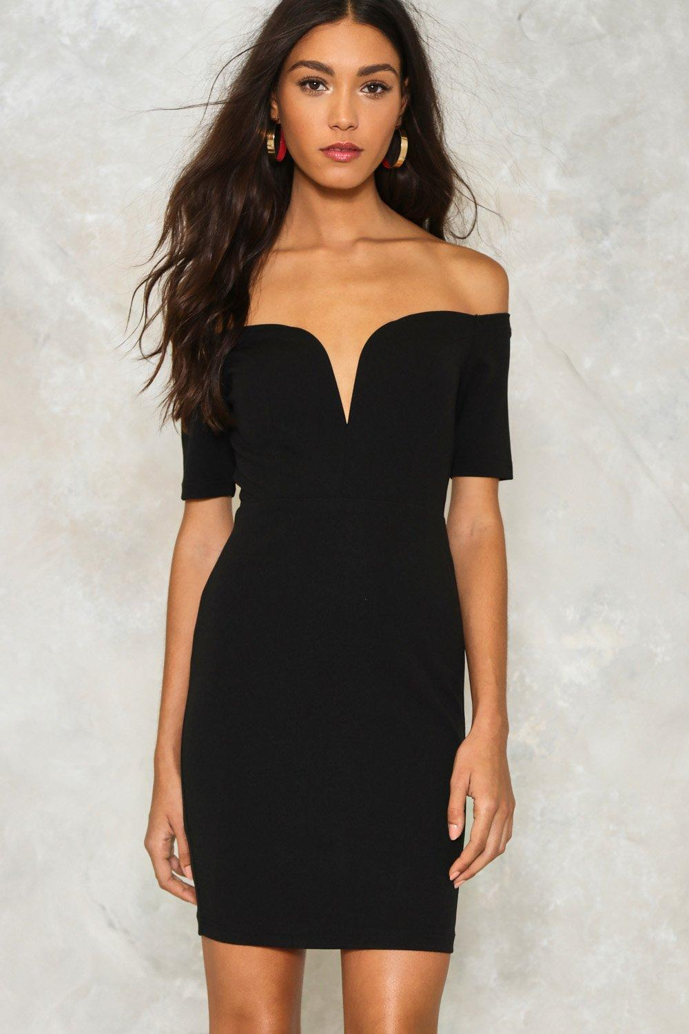 5e6c82c05153 One Way or Another Off-the-Shoulder Dress | Shop Clothes at Nasty Gal!