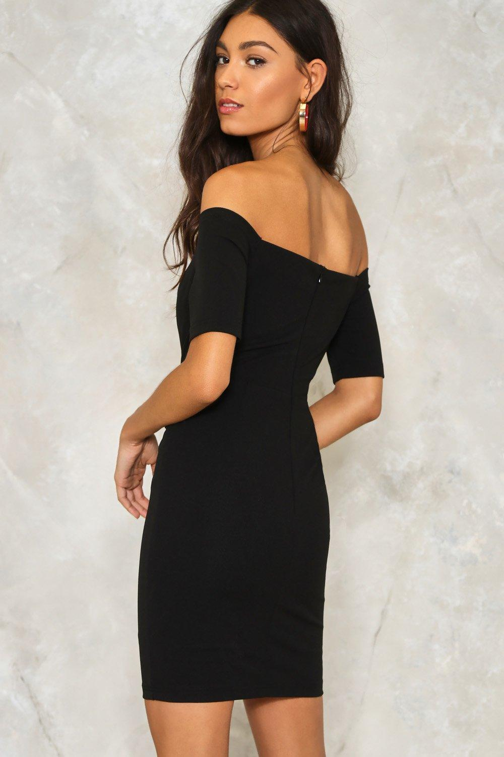 71d58f3d66ae4 One Way or Another Off-the-Shoulder Dress