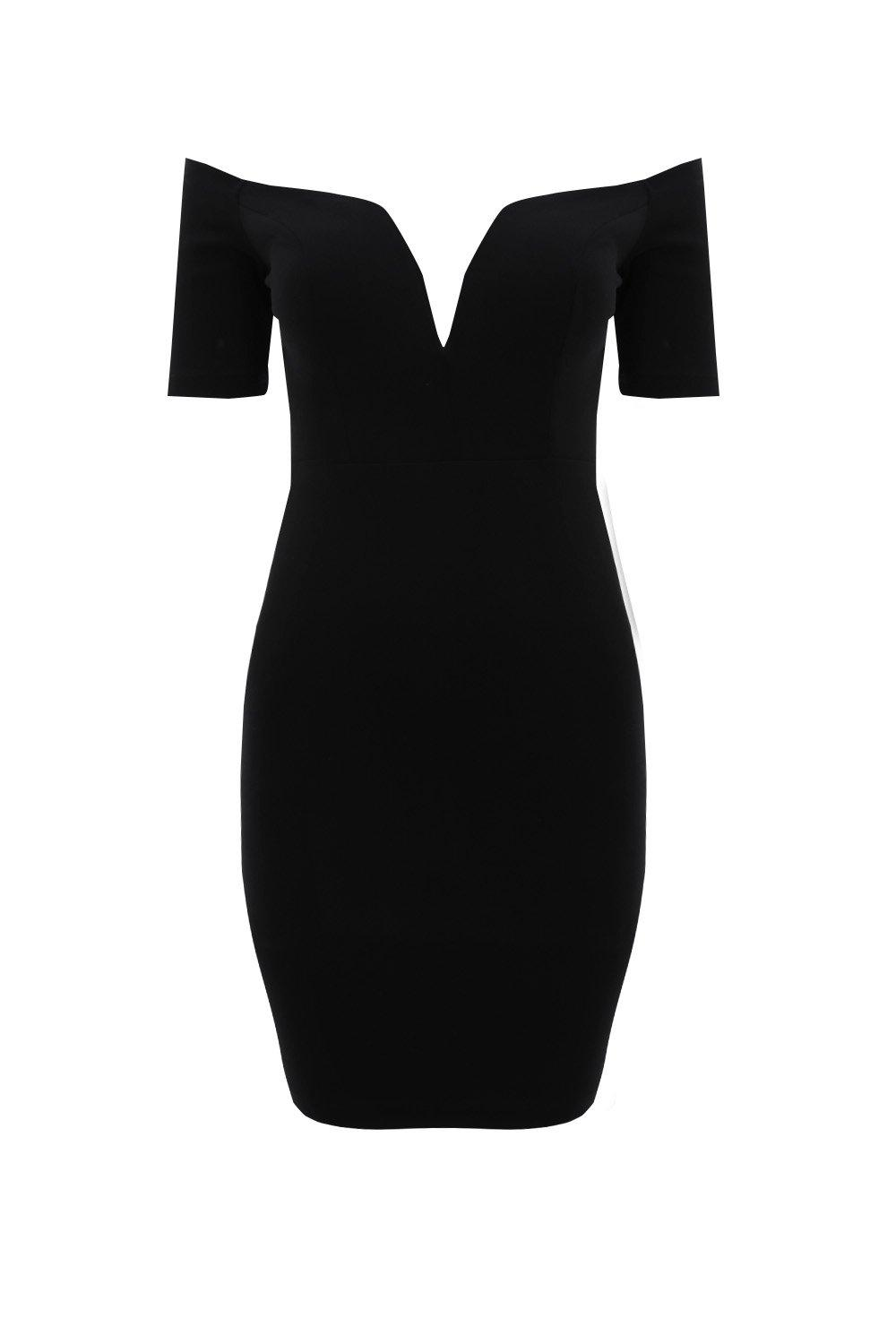 a8a1a439e6278 One Way or Another Off-the-Shoulder Dress