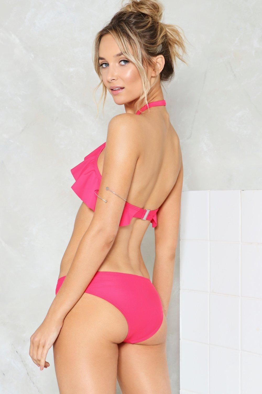 e89a8eda7df Catch the Wave Ruffle Bikini Set | Shop Clothes at Nasty Gal!