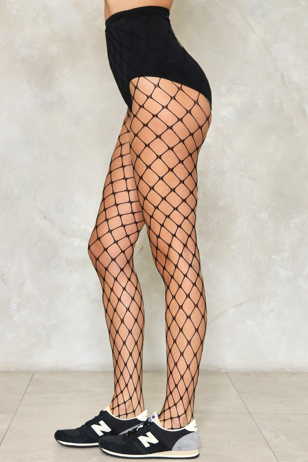 1f9d487870ded Cast Your Net Wider Fishnet Tights   Shop Clothes at Nasty Gal!