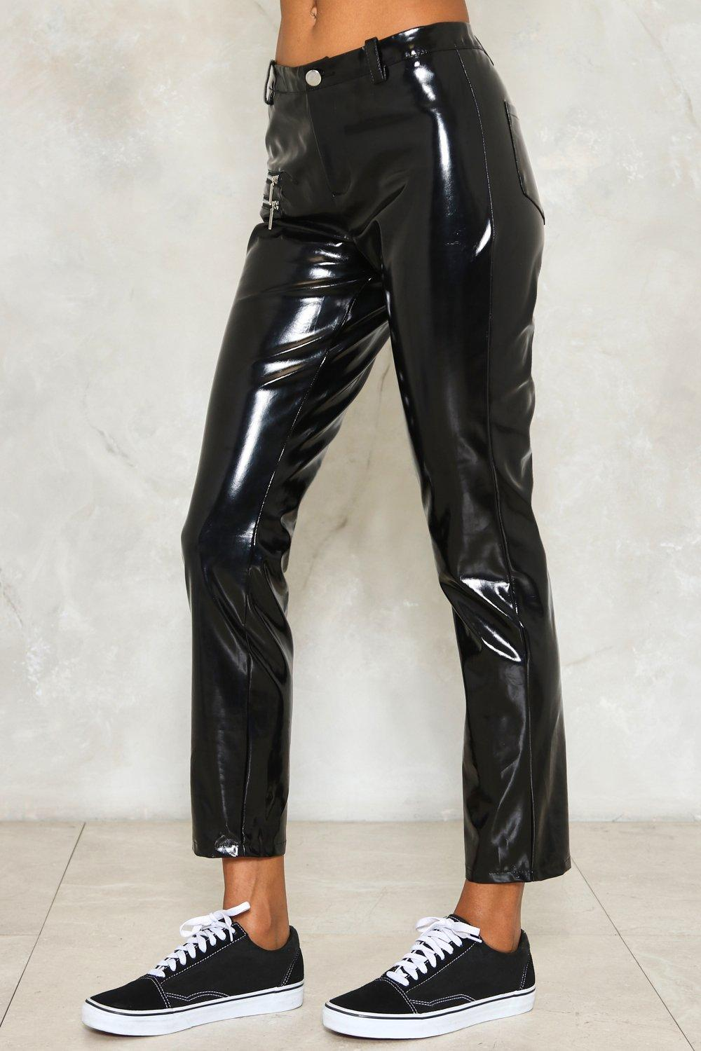 10d580259976 Time to Shine Faux Leather Pants