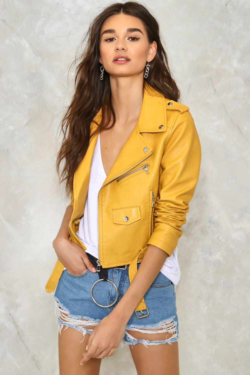 650bf51ea Ride On Cropped Faux Leather Moto Jacket | Shop Clothes at Nasty Gal!