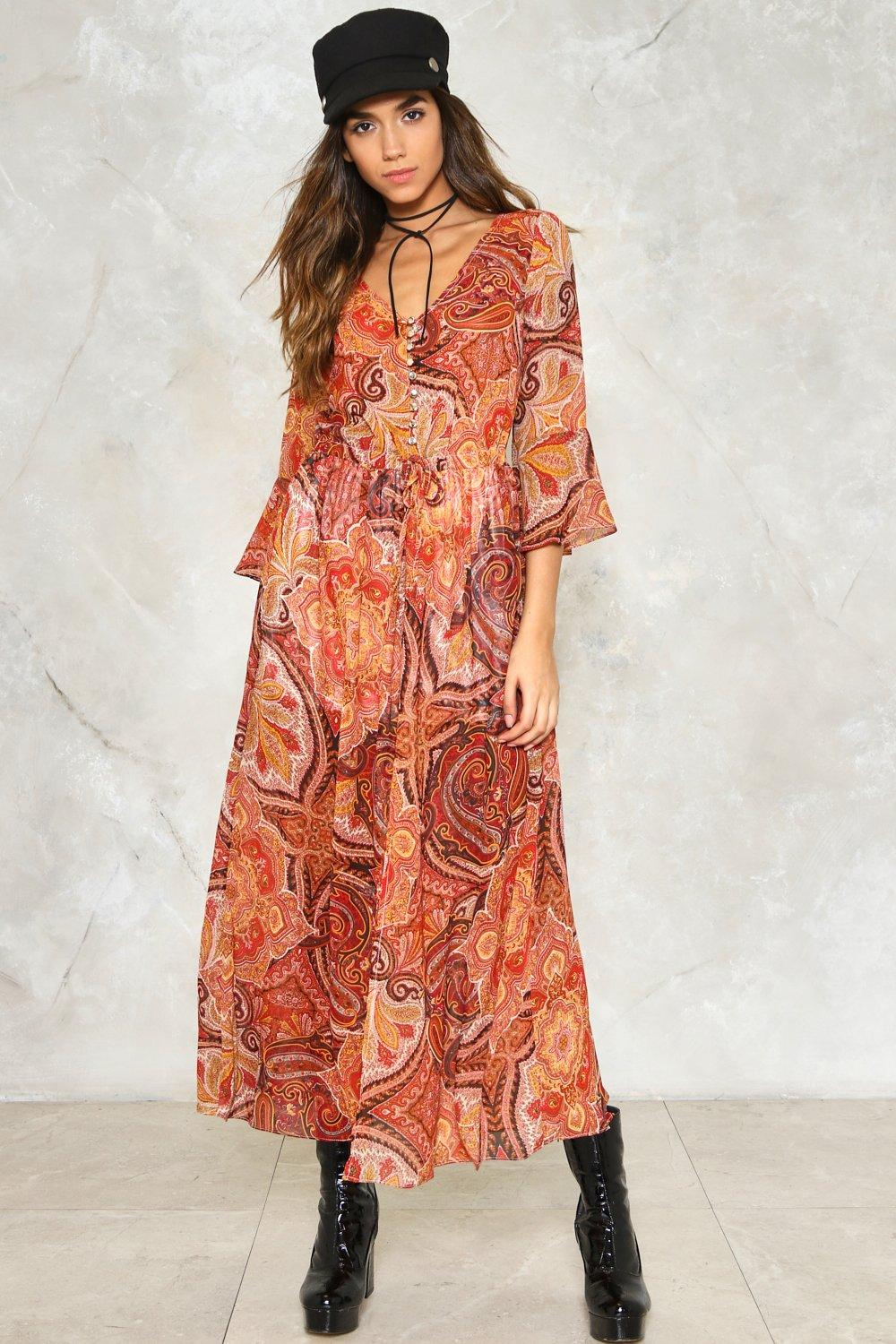 d714dd7b9ba0 The Price You Paisley Maxi Dress | Shop Clothes at Nasty Gal!