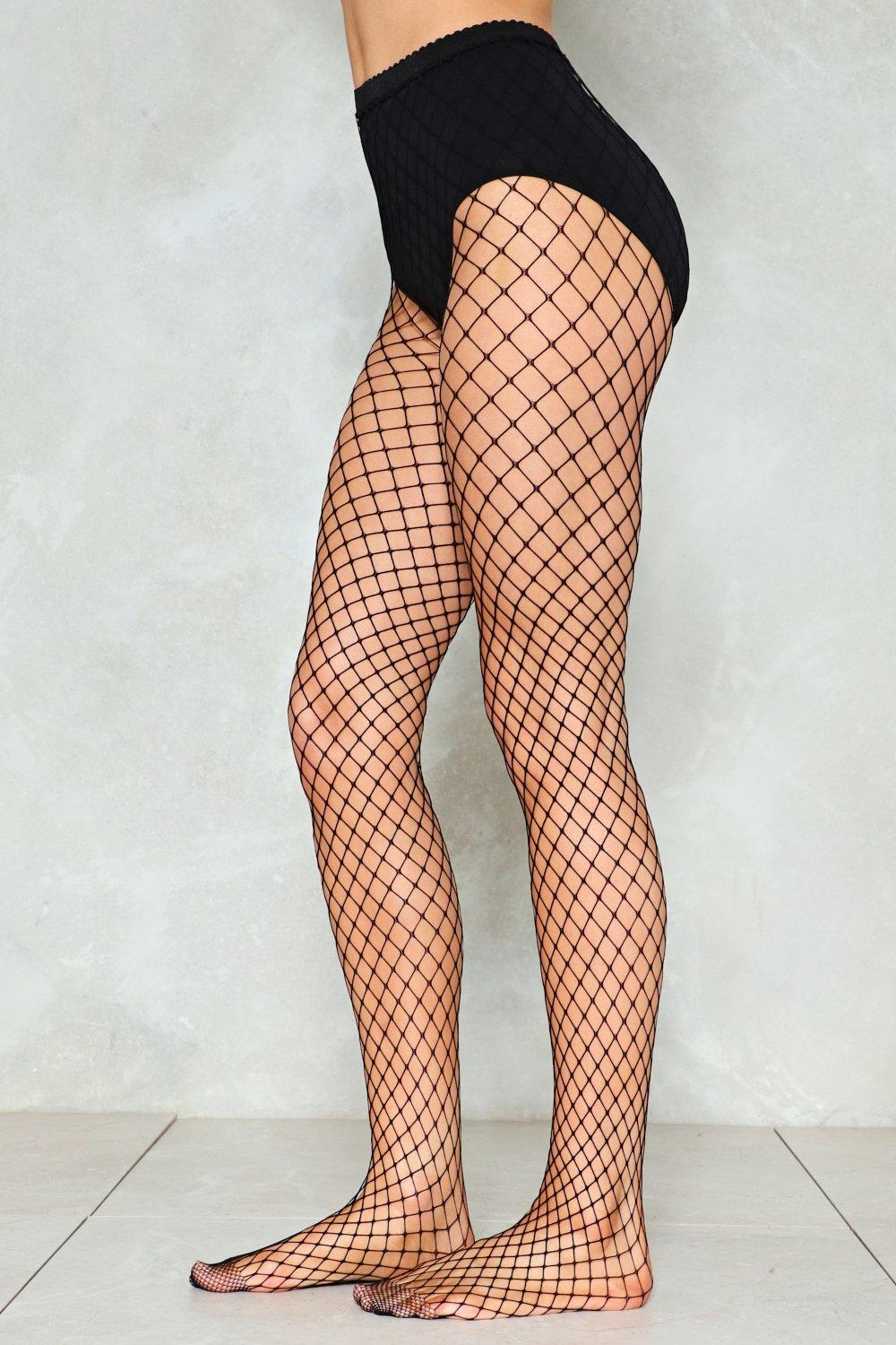 c37af019be861b Wrong Side of the Tracks Fishnet Tights | Shop Clothes at Nasty Gal!