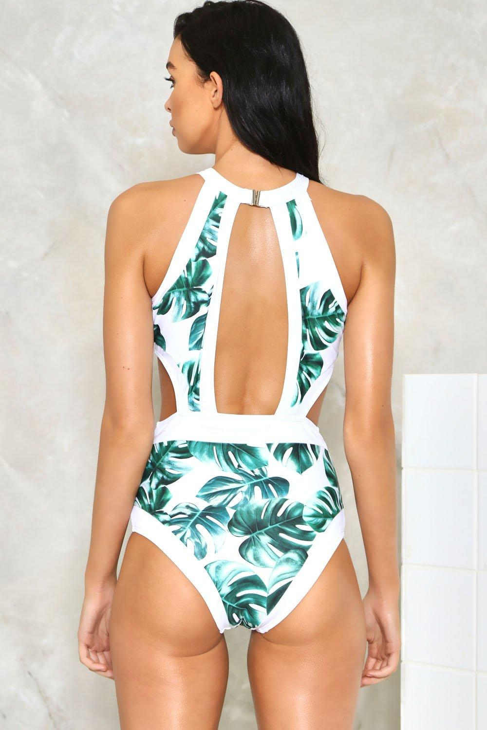 c3180b22e34c89 Bare the Palm Cut-Out Swimsuit | Shop Clothes at Nasty Gal!