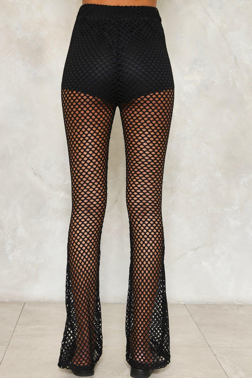Can You Just Net Fishnet Pants Shop Clothes At Nasty Gal