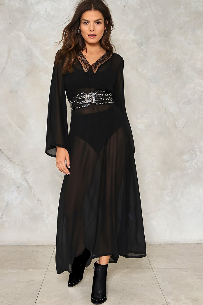 I See Through You Maxi Dress Shop Clothes At Nasty Gal