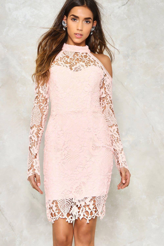 Alexandra Crochet Dress Shop Clothes At Nasty Gal