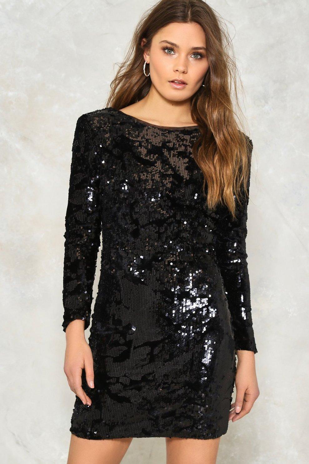 6aee600f87 Disco Hour Sequin Dress