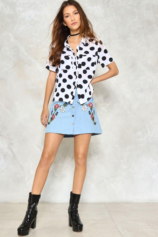 6b67124549f Valley Girl Denim Skirt
