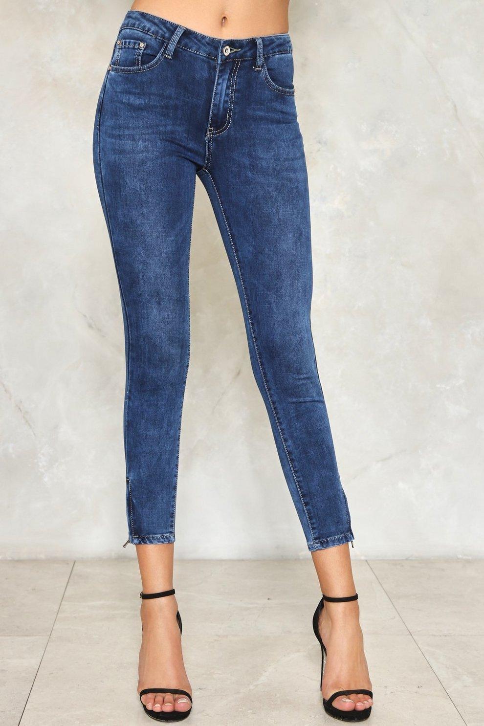 e5d42b919f Make It Zippy Skinny Jeans | Shop Clothes at Nasty Gal!