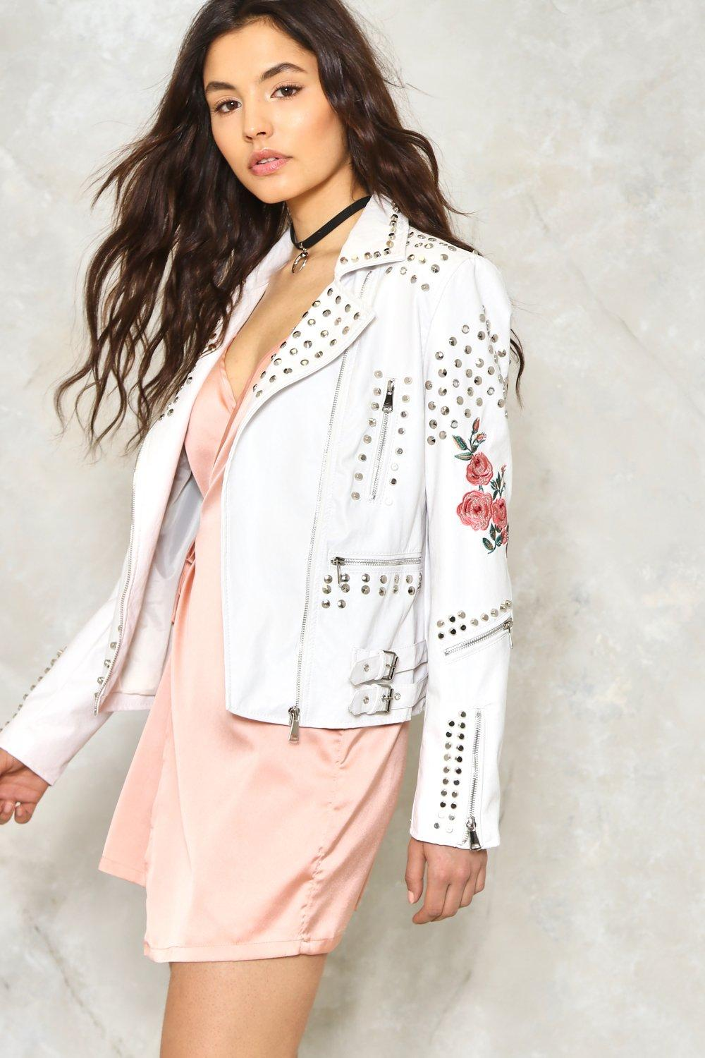 c0218ce2 Bud Out Faux Leather Moto Jacket | Shop Clothes at Nasty Gal!